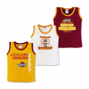 NBA Baby - 3-piece Sando (Cavaliers Basketball) 9-12 Months