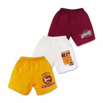 NBA Baby - 3-piece Shorts (Next Big Thing - Cavaliers) 6-9 Months