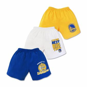 NBA Baby - 3-piece Shorts (Next Big Thing - Warriors) 9-12 Months