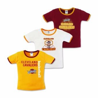 NBA Baby - 3-piece T-Shirt (Cavaliers Basketball) 6-9 Months