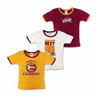 NBA Baby - 3-piece T-Shirt (Next Big Thing - Cavaliers) 9-12 Months