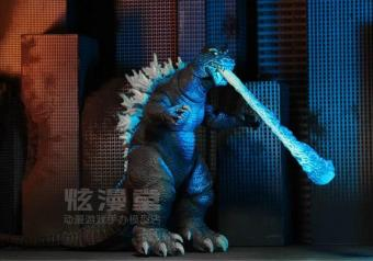 Neca blue Godzilla atomic effect garage kit Model