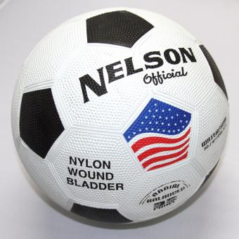 Nelson Soccer Ball Rubber Size 5 (White) Price Philippines