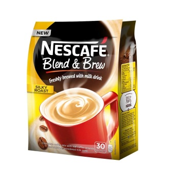 Nescafe Blend and Brew Silky Roast Coffee Mix Sachets 30's Pack Price Philippines