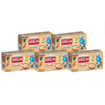 NESTLE(R) CERELAC(R) Chicken and Vegetables 120g (Pack of 5)