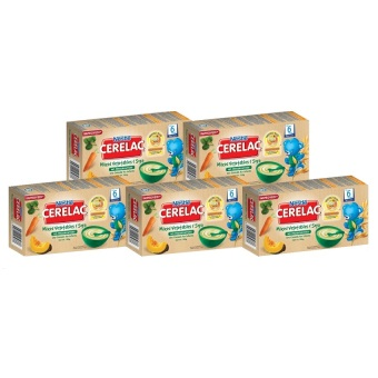 NESTLE(R) CERELAC(R) Vegetables and Soya 120g (Pack of 5)