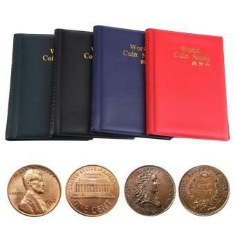 New 120 Pockets 10 Pages World Coin Storage Folder Album MoneyCollecting Holder Book Black - intl - 5
