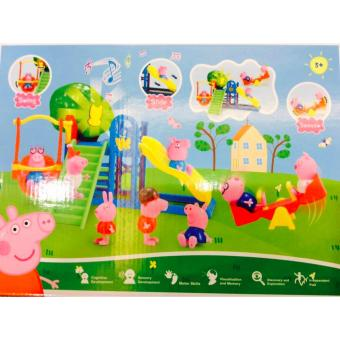 New 2017 Best Store Baby Shop Peppa Pig Amusement park Set ToyXZ-361 Price Philippines