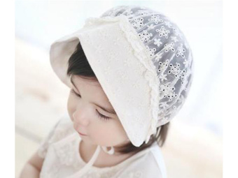 New born Summer Hats Girls Princess Hat Infant Toddler Sunhatbreathable Baby Cap with holes Price Philippines