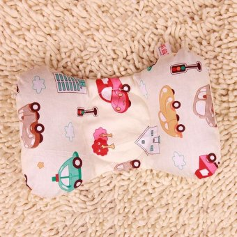 New cotton baby pillow newborn prevent flat head bedding setfeeding travel shaping nursing pillow decorate sleep case support -intl