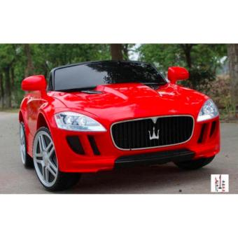 New Maserati Ride on Car for Kids, Boys and Girls With Music andLights (Red)