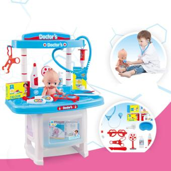 New Pretend Play Doctor Toys Simulation Medicine Medical Kit Kids Baby Children's Toys - 2