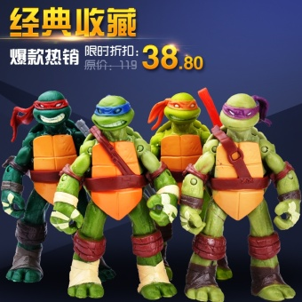 New style Ninja Turtles garage kit model toys