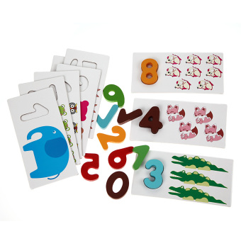 NEW Wooden Letter Digital Card Kid Educational Toys kidstoys(Digital)