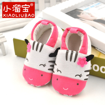 Newborn baby Spring and Autumn non-slip soft bottom cloth shoes