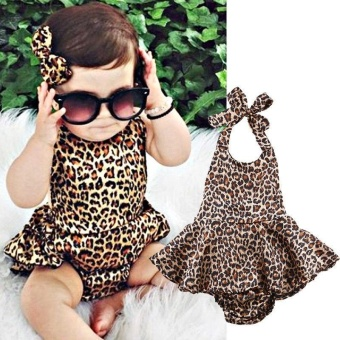 Newborn Infant Baby Girl Bodysuit Floral Romper Jumpsuit OutfitsSunsuit Clothes 0-24M (12-18 Months) - intl