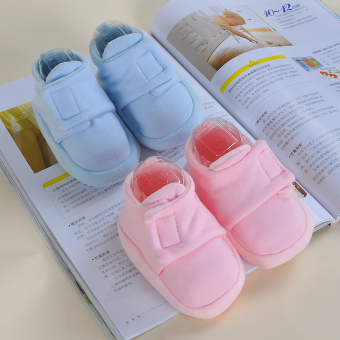 Newborn soft bottom male children's female baby shoes Baobao toddler shoes