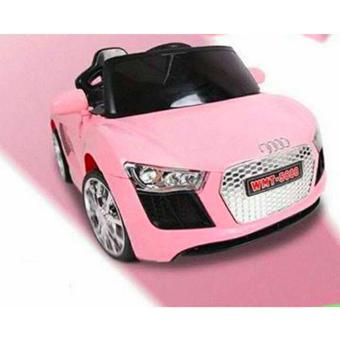 NEWEST AUDI SPORT EDITION 6V RIDE CAR FOR KIDS, BOYS AND GIRLS WITHMUSIC, LIGHTS (pink) Price Philippines