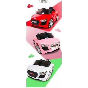 NEWEST AUDI SPORT EDITION 6V RIDE CAR FOR KIDS, BOYS AND GIRLS WITHMUSIC, LIGHTS (white) - 4