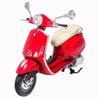 NewRay 1:12 Die-cast Vespa Primavera Scooter Motorcycle Red ColorModel Collection Christmas New Gift(Red) - intl