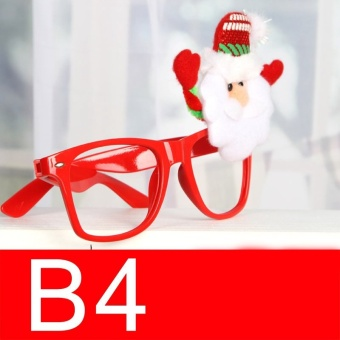Novelty Fancy Dress Christmas Glasses Frame Xmas Decoration B4 - intl