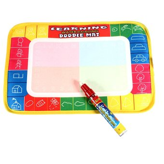 Novelty Water Drawing Painting Writing Mat Board + Magic Pen DoodleToy Gift for Kids Childen Price Philippines