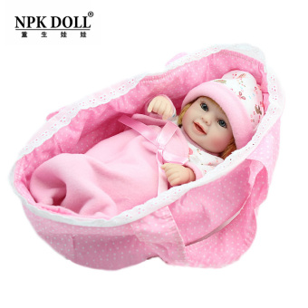 Npkdoll cute silicone trade girl's doll sleeping bag