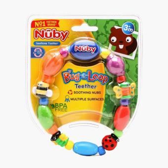 Nuby Bug-a-Loop Teether Ring