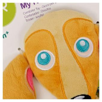 Oops Comforter Toy-Happy (Orange/Blue) - picture 3