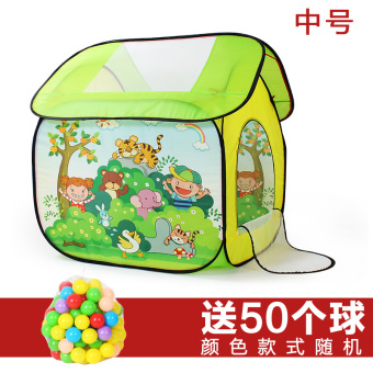 Open baby princess infant children's tent house