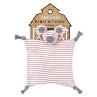 Organic Farm Buddies Ballerica Mouse Blanket Multicolor - picture 3