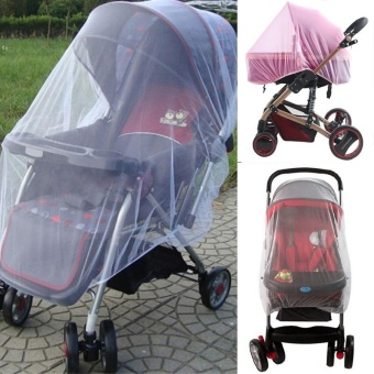 Outdoor Infant Kids Baby Stroller Mosquito Net Pushchair ProtectorCar Buggy Cover - intl