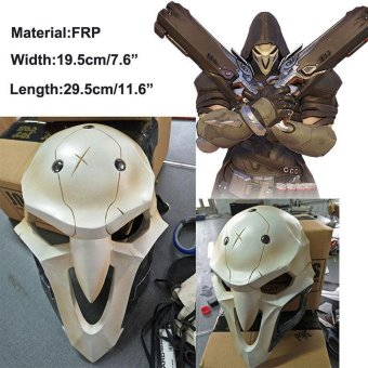 Overwatch Reaper Mask Cosplay Costume Mask Hallowmas Fancy Masquerade Toys - intl