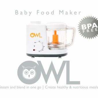 Owl Baby Food Maker / Food Processor / Food Steamer & Blender