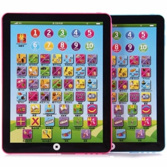 Pad For Kid Child Learning English Educational Computer Large Tablet Teach Toy Y Color May Vary Set of 2
