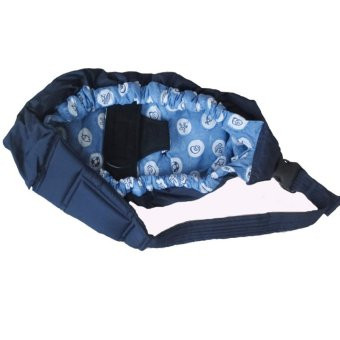 PAlight Baby Cradle Pouch Infant Carrier Sling Bag (Light Blue)