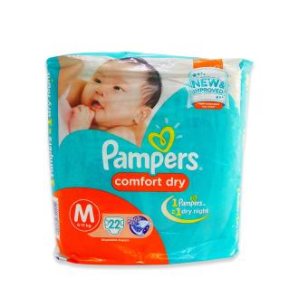 Pampers Diaper Comfort Dry Medium 22's 720212 1's Price Philippines