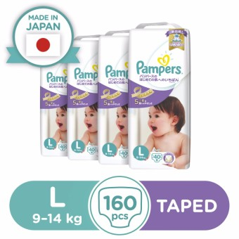 Pampers Premium Care Diaper L 40s - 4 Packs
