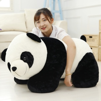 Panda Dolls Plush Toys Puppet Pillow Holding Bear Big Doll Valentine's Day Gift to Send His Girlfriend (40CM) - intl