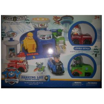 PAW PATROL Parking Lot Police Station XZ-851 Price Philippines