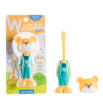 Pearlie White BrushCare Kids Toothbrush - Bear Price Philippines