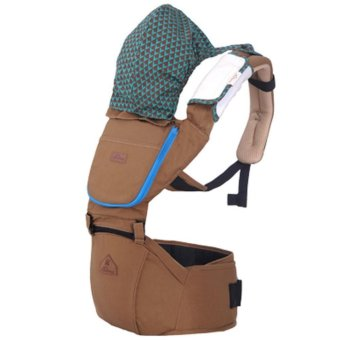 PENNY Ergonomic Infant Hipseat Durable Banckpack CarrierSling,Brown - intl Price Philippines