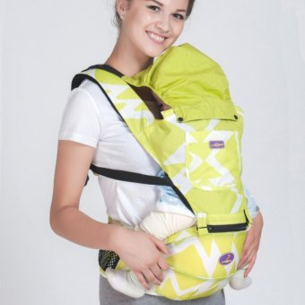 PENNY Lightweight Multi-Position Baby Carrier Backpack Detachable Hip Seat with Hood,Yellow - intl Price Philippines