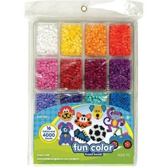 Perler Beads Fun Colors Beads Tray