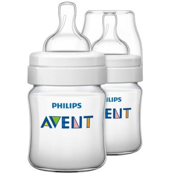 Philips Avent Classic Feeding Bottle Twin Pack 4oz