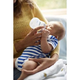 Philips Avent Natural Bottle 1X 0m+ 4oz 125ml SCF 690/13 SinglePack+ BPA (Clear) - 4