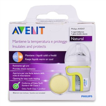 Philips Avent Natural Glass 4oz Bottle Sleeve