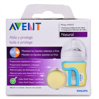 Philips Avent Natural Glass 4oz Bottle Sleeve - 2