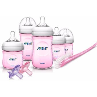 Philips AVENT NATURAL NEWBORN BABY BOTTLE Starter Set, (PINK) Price Philippines