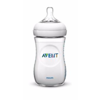 Philips Avent Natural SCF693/17 Feeding Bottle, 260ml 9ozTransparent, Pack of 1 (Clear)